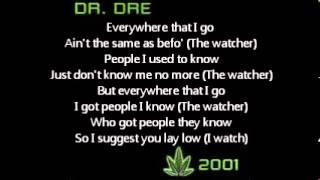 Watch Dr Dre The Watcher video