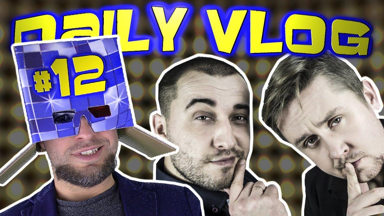 """Daily Vlog#12 - """"KABARET 4 FALA kręci nowy teledysk w Garwolinie !"""" [ChwytakTV]"""