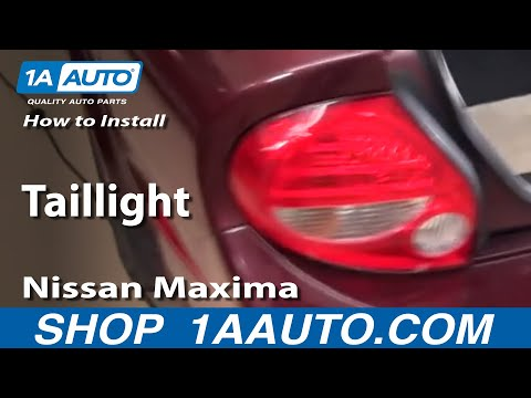 How To Install Replace Taillight Nissan Maxima 00-03 - 1AAuto.com