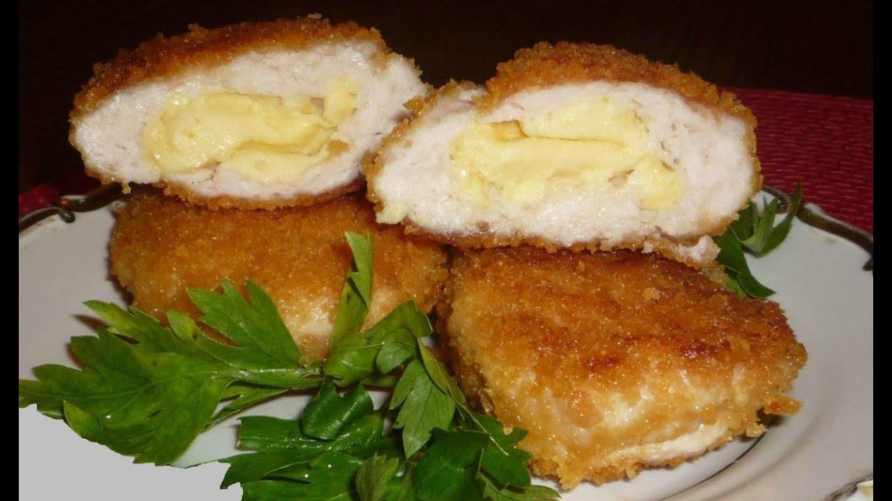 Куриные котлеты с сыром и манкой рецепт
