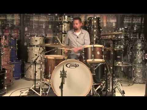 Video Demo: PDP Concept Maple Classic 3pc Wood Hoop Drum Set 24/13/16
