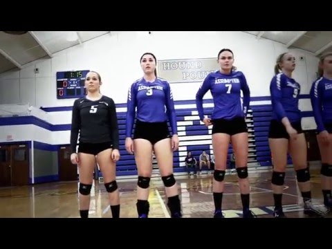 Take a Look Inside the Assumption College Volleyball Program!