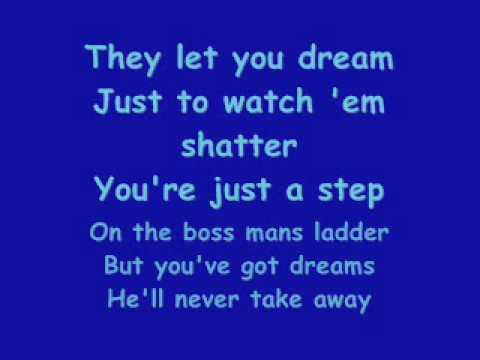9 to 5 - Dolly Parton with lyrics
