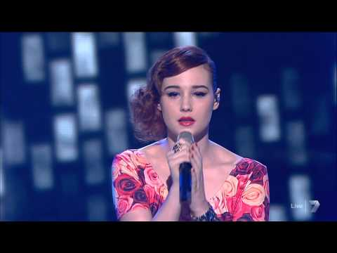Bella Ferraro  In The Arms Of An Angel - The X Factor Australia 2012 - 13-11-2012 (hq) video