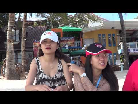 Lady Boys in the Philippines LOL BOHOL Philippines Lady Boy with RABBI JEW BARKER 2014