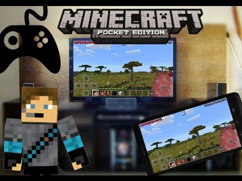 Como Jugar Minecraft PE en tu TV Televicion