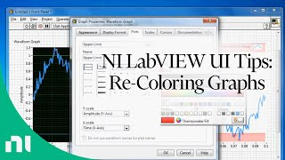 NI LabVIEW UI Tips: Re-Coloring Graphs