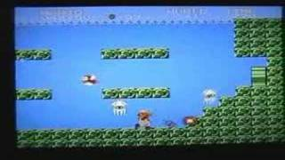 Minus World on Super Mario Bros (Wii Virtual Console)