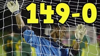 قصة أكبر فوز في تاريخ كرة القدم 149-0 !