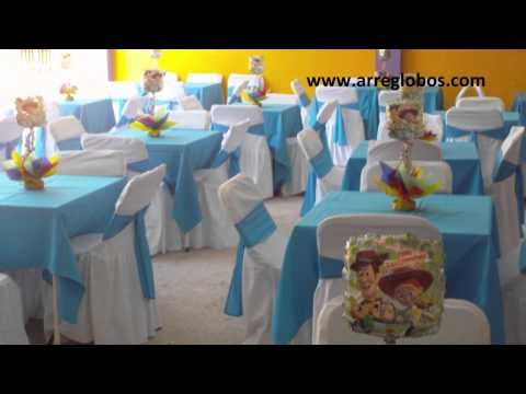 Decoracion con Globos Toy Story