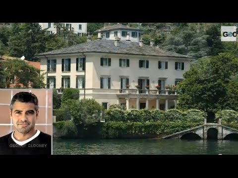 Celebrities Vacation Homes in Paradise (Oprah, George Clooney...) / Famosos en el Paraíso [IGEO.TV]