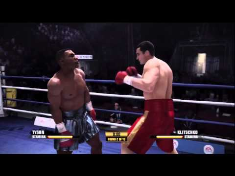 Fight Night Champion - Mike Tyson VS Wladimir Klitschko (Part1)