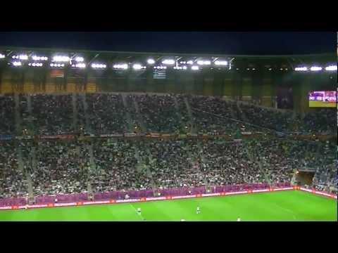 Euro 2012: Georgios Samaras scores a goal (Germany-Greece) / Arena Gdansk