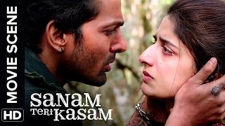 Harshwardhan questions about his love   Sanam Teri Kasam   Movie Scene