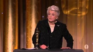 Angela Lansbury receives an Honorary Award at the 2013 Governors Awards