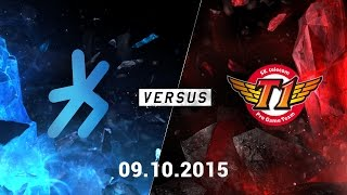 Video clip [09.10.2015] H2K vs SKT [CKTG2015 - Bảng C]