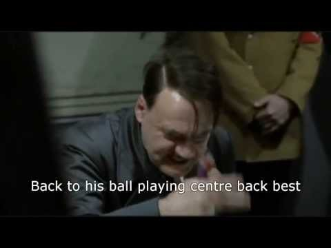 Hitler reacts to Sir Alex Ferguson's retirement