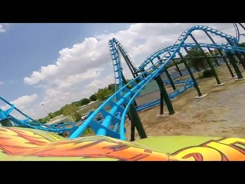 Lightning Run Roller Coaster REAL POV at Kentucky Kingdom