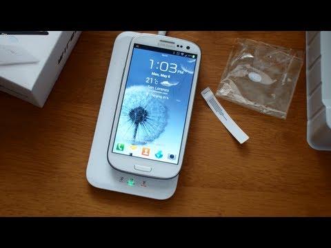 Como cargar inalambricamente tu Samsung Galaxy S3
