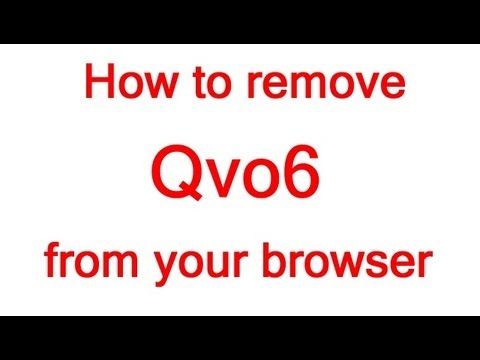 How to remove Qvo6 virus/malware from your browser tutorial - 1080p