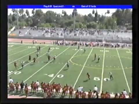 Gabe Tuata Pasadena City College Football Highlights