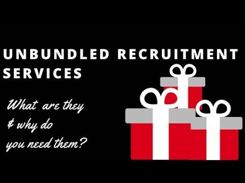 Unbundled Recruitment Services