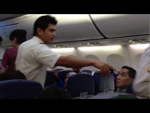 Lion Air Incident CGK-SIN