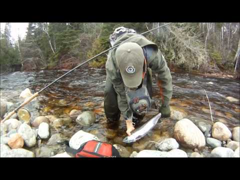 Steelhead fishing on the beautiful streams of the North Shore of Lake Superior