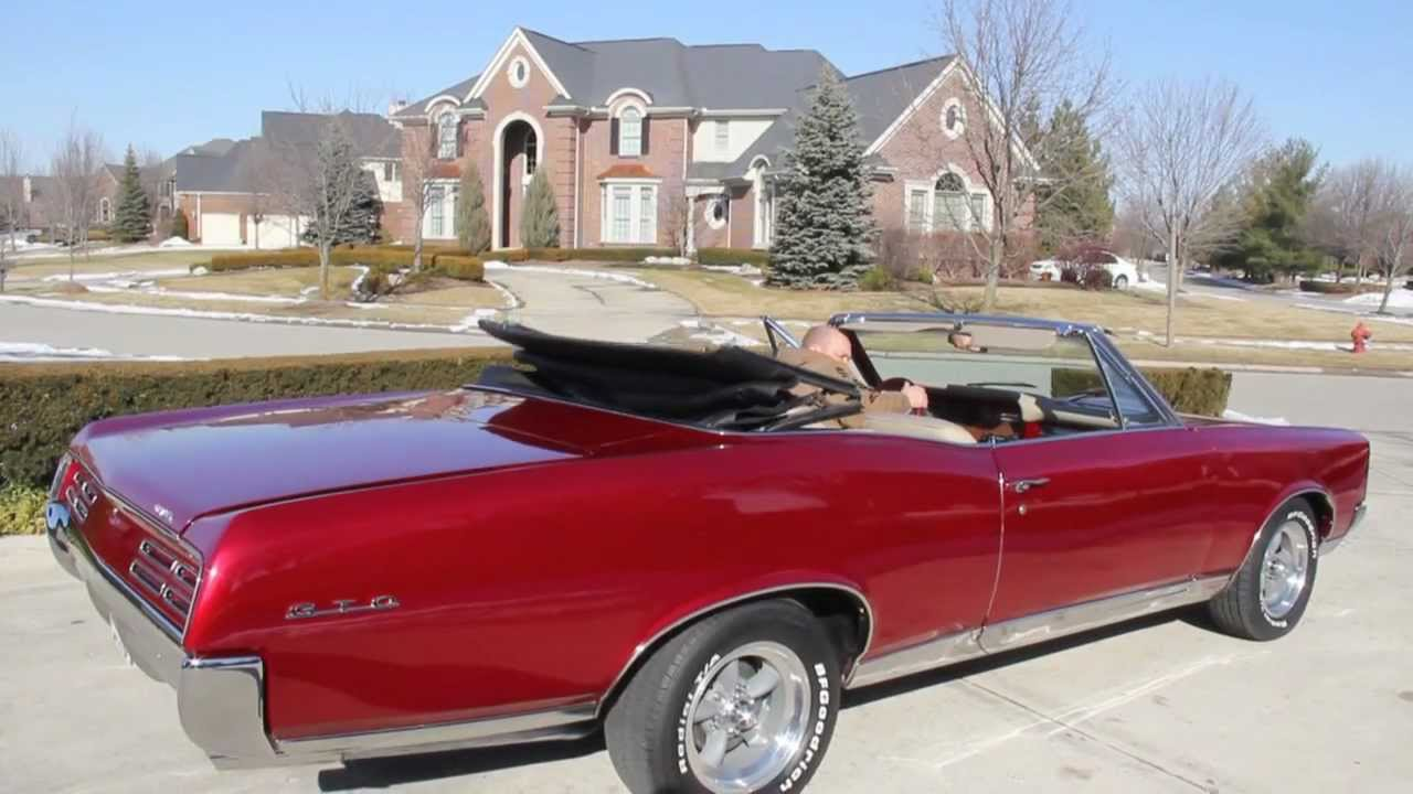 1967 pontiac gto convertible classic muscle car for sale in mi vanguard motor sales youtube. Black Bedroom Furniture Sets. Home Design Ideas