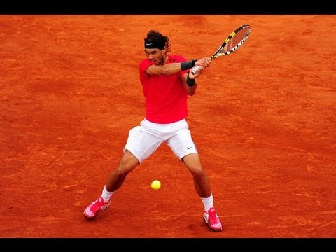 Rafael Nadal vs. Novak Djokovic French Open Roland Garros 2012 Final