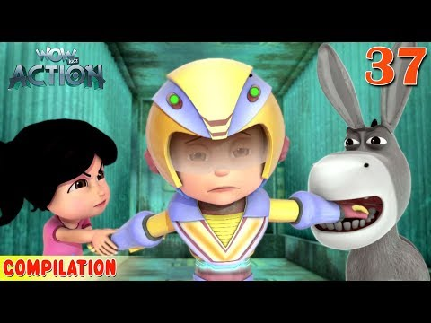 Vir : The Robot Boy | Vir Action Collection - 37 | Action series | WowKidz Action