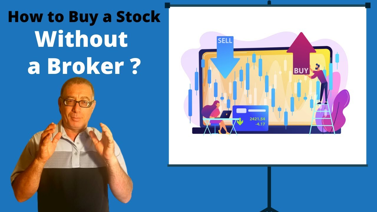 how to buy stocks without a broker in canada