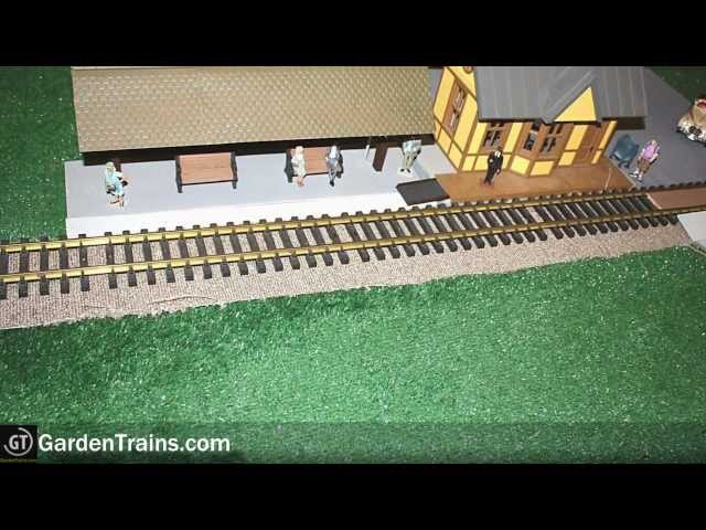 Garden Trains: #014 : Building an Indoor Large Scale Railroad : Freebie Railroad