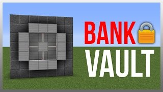 Minecraft 1.12: Redstone Tutorial - Ultimate Vault! (Store Valuables)