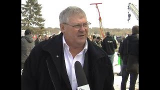 March 16 - FSJ for LNG holds rally at Charlie Lake