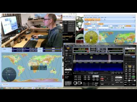 Working the FO-29 satellite using Flex-1500 & PowerSDR