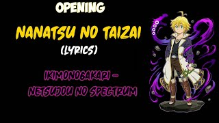 Download lagu Ikimonogakari - Netsujou no spectrum (Opening Nanatsu no Taizai ) [Seven deadly sins] | Lyrics