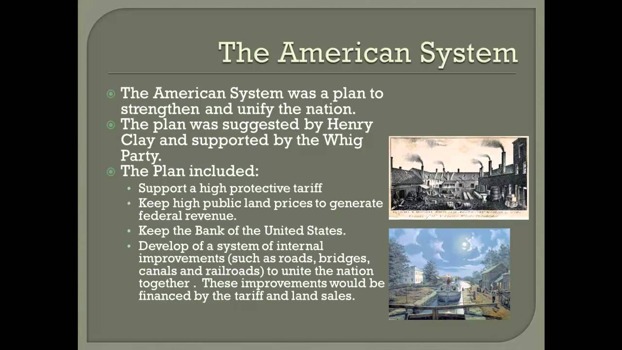 henry clays american system Find a summary, definition and facts about the american system for kids henry  clay and the american system facts about the american.