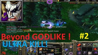 DotA 6.83d - Balanar, Night Stalker Beyond GODLIKE! (ULTRA KILL)
