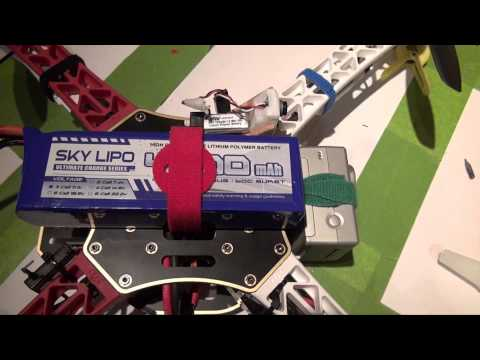 DJI F450 Build w/ 5.8GHz FPV