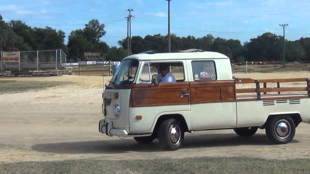 Rare Antique Vw Bus Pickup Truck Youtube
