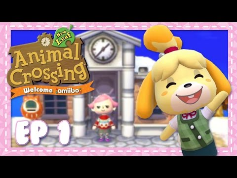 Animal Crossing New Leaf: Welcome Amiibo Let's Play   Ep 1   Mayor of Solitude