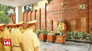 Phòng CSGT dâng hương tưởng niệm các anh hùng liệt sĩ tại bảo tàng CATP Hà Nội | Nhật ký 141