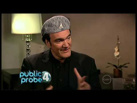 Quentin Tarantino interview on ROVE (Australia) - Inglourious Basterds.