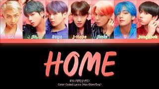 Download lagu BTS (방탄소년단) 'HOME' [Color Coded Lyrics (Han/Rom/Eng)]