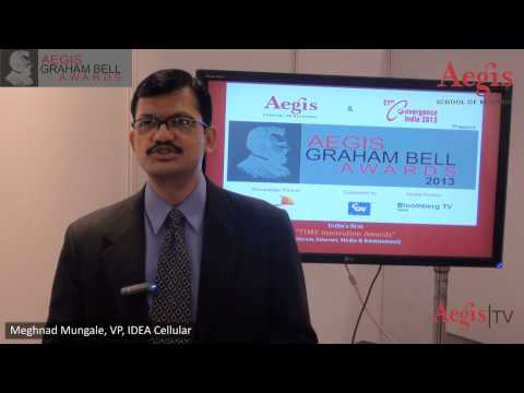 Mr. Meghnad Mungale | VP Idea Cellular at 1st Jury Round of Aegis Graham Bell Awards 2013
