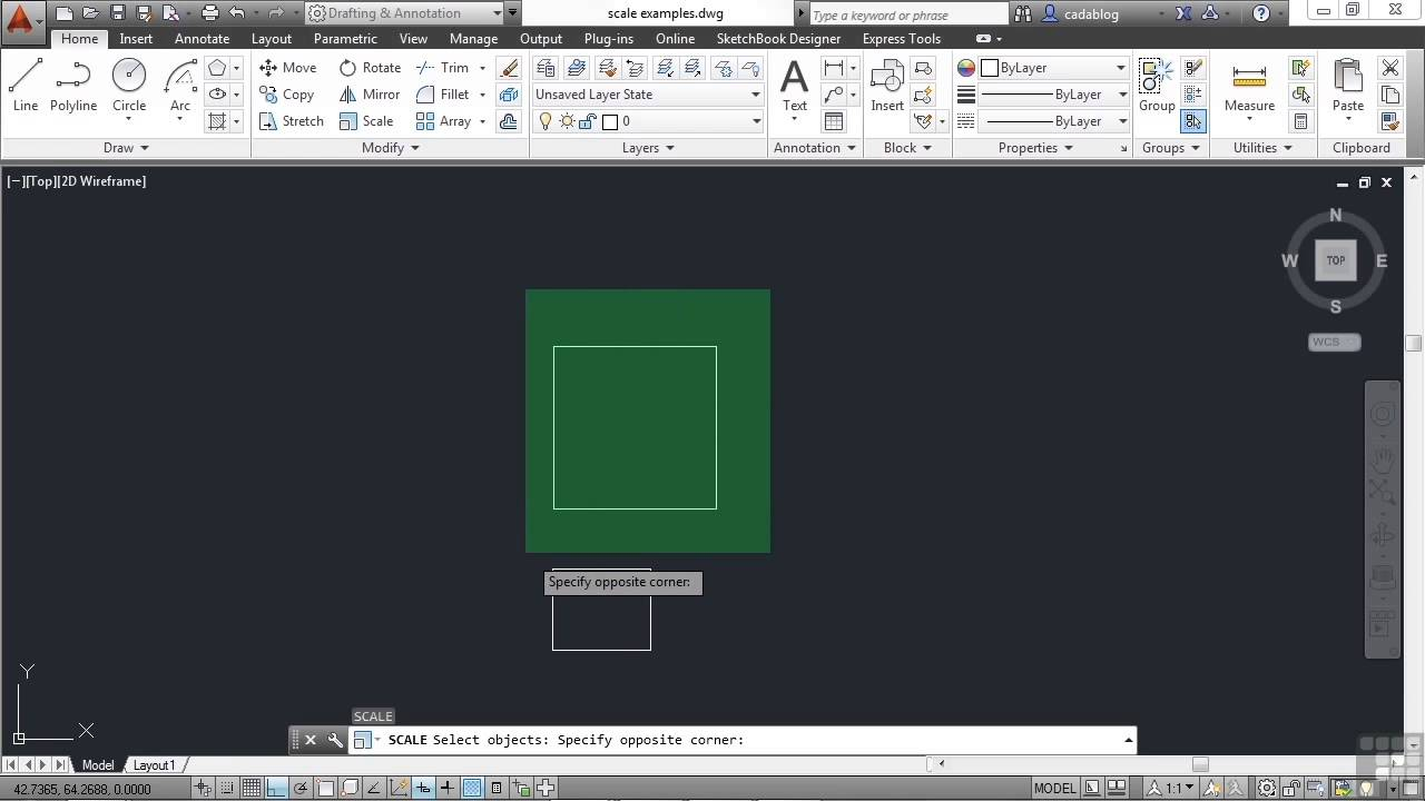 autocad 2014 tutorial for beginners pdf