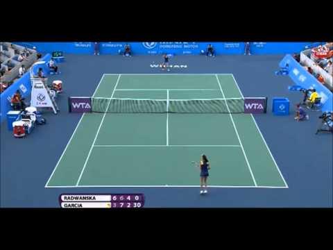 Agnieszka Radwanska vs Caroline Garcia 2014 - Highlights - Dongfeng Motor Wuhan Open
