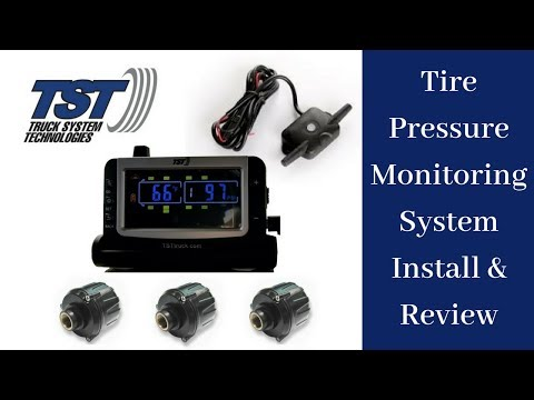 Tire Pressure Monitoring System Install & Review TST 507