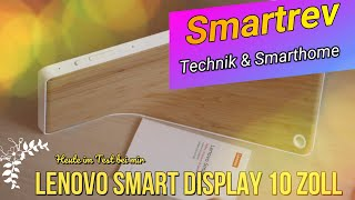 Lenovo Smart Display mit Google Assistant - deutsch